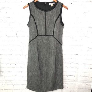 MOTHERHOOD MATERNITY gray sheath career dress S